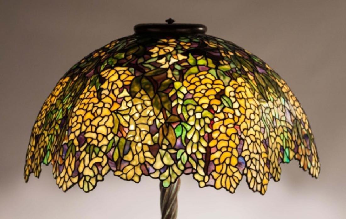Laburnum Leaded Glass Table Lamp - 2