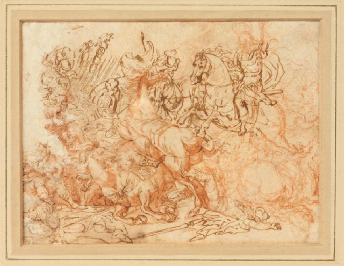 Three Old Masters Drawings and Etchings - 2