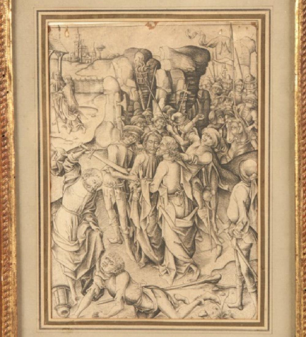 Three Old Masters Drawings and Etchings - 4