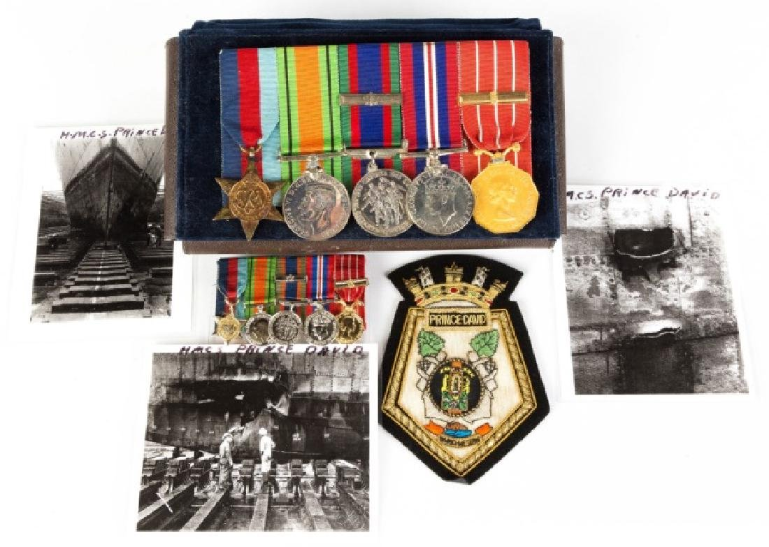 Group Military Medals