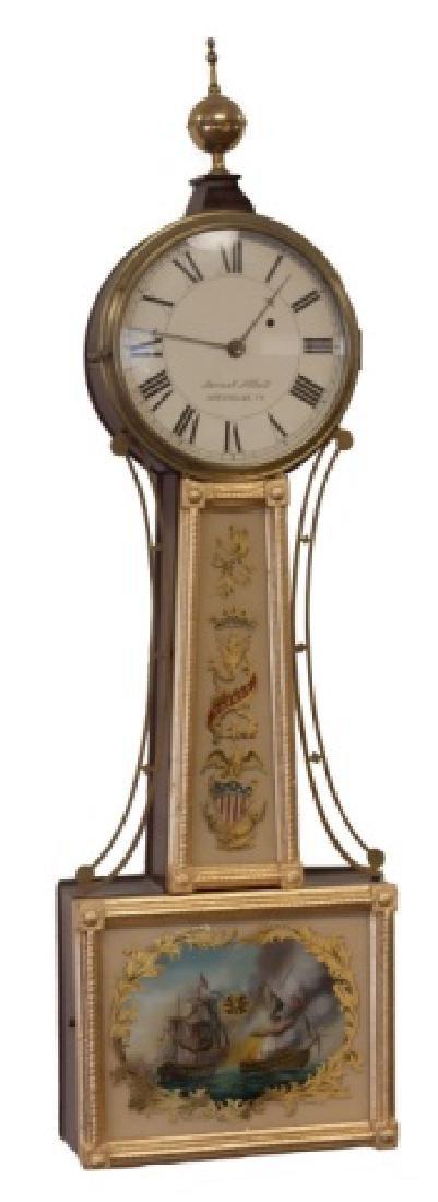 Samuel Abbot Banjo Clock