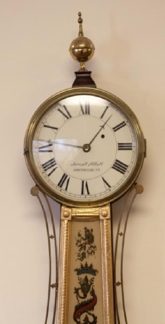 Samuel Abbot Banjo Clock - 2