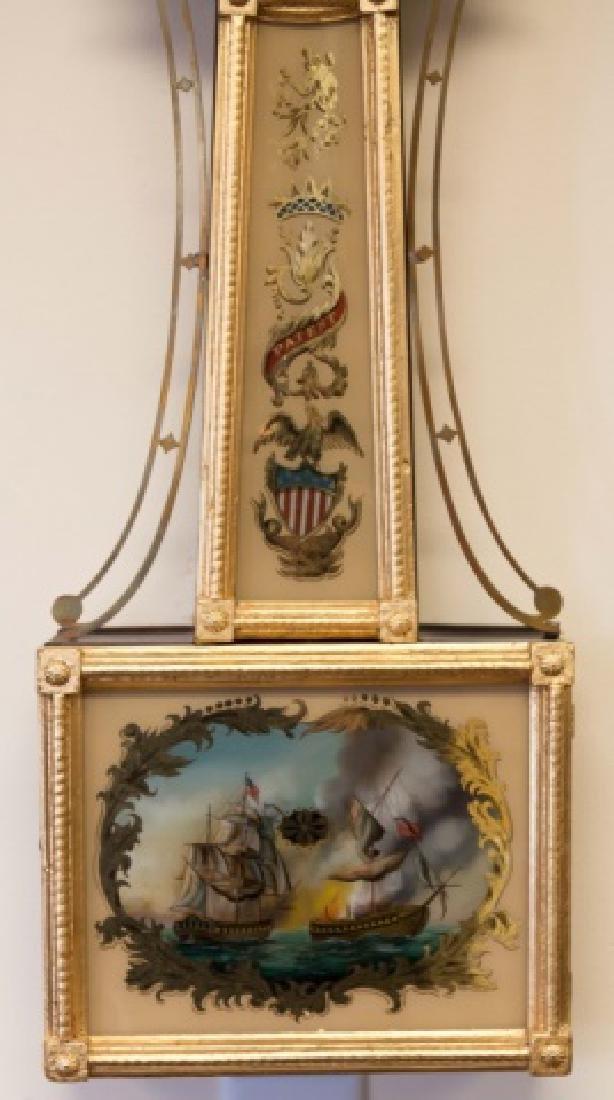 Samuel Abbot Banjo Clock - 3