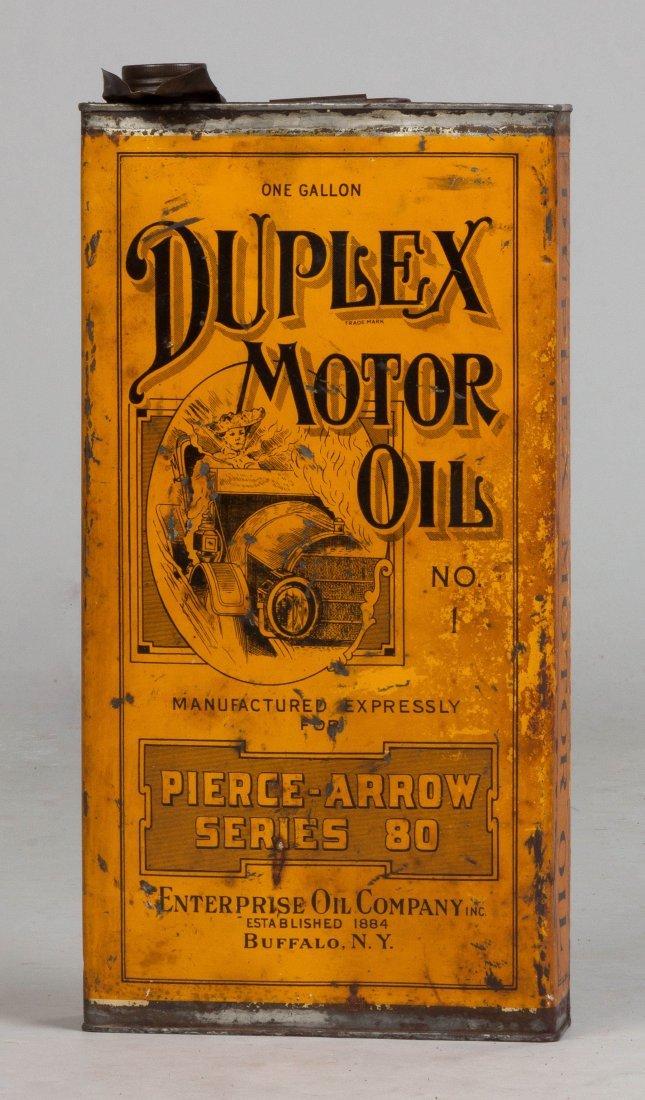 Pierce-Arrow Motor Oil Can