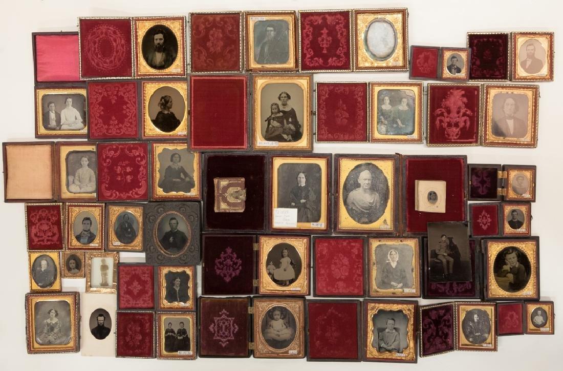 Group of Vintage Photographs, Daguerreotypes ,