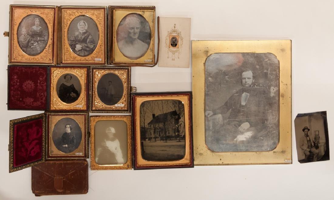 Group of Vintage Photographs, Daguerreotypes , - 2