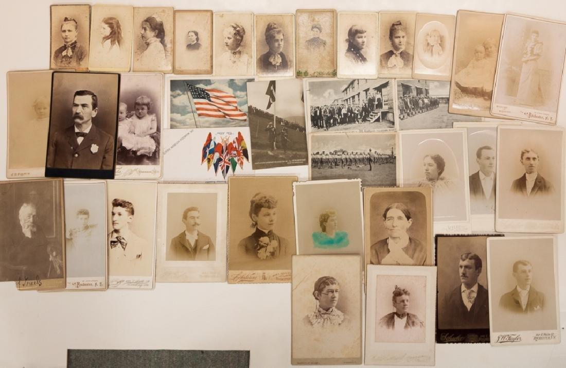 Group of Vintage Photographs, Daguerreotypes , - 6