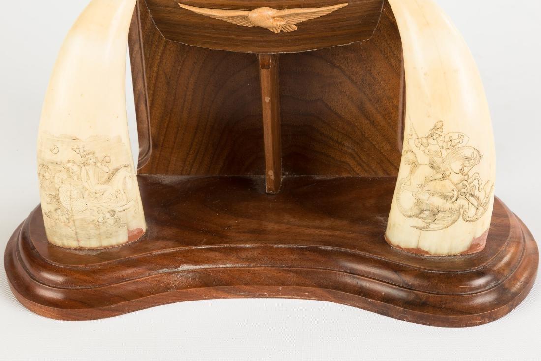 19th Century Scrimshaw & Custom Watch Hutch - 2