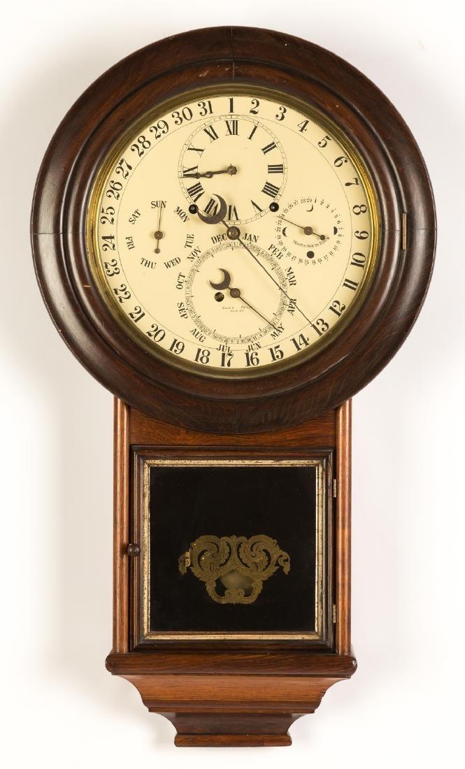 D. J. Gale's Astronomical Calendar Wall Clock