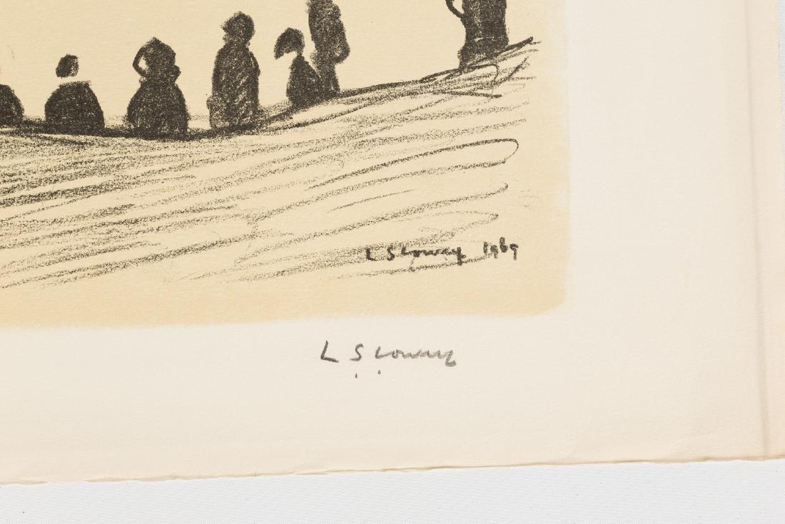 "Lawrence Stephen Lowry (British, 1887-1976) ""Sunday - 2"