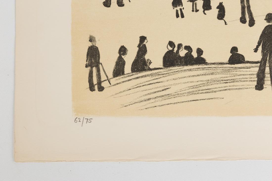 "Lawrence Stephen Lowry (British, 1887-1976) ""Sunday - 3"