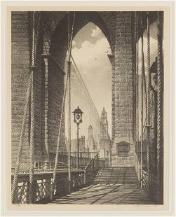 """Stow Wengenroth (American, 1906-1978) """"High Arches"""