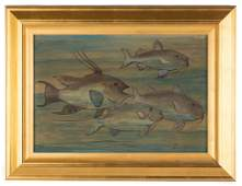Jane Peterson American 18761965 School of Fish