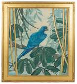 Jane Peterson American 18761965 Parrot