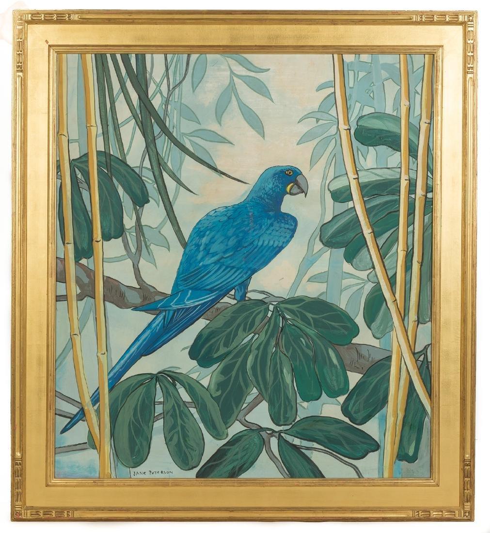 "Jane Peterson (American, 1876-1965) ""Parrot"""