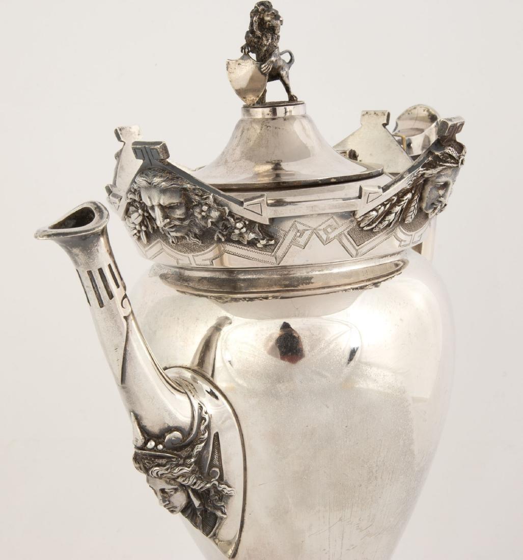 Gorham Sterling Silver Coffee Pot - 2