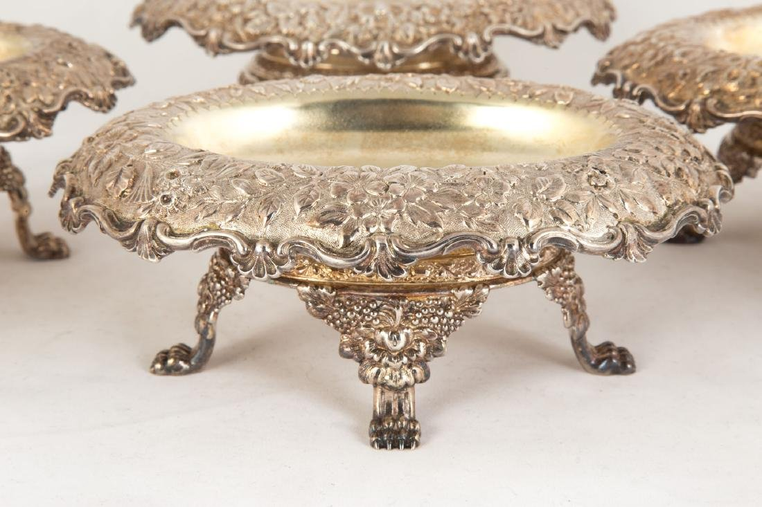 Four Tiffany & Co. Silver Footed Dishes - 2