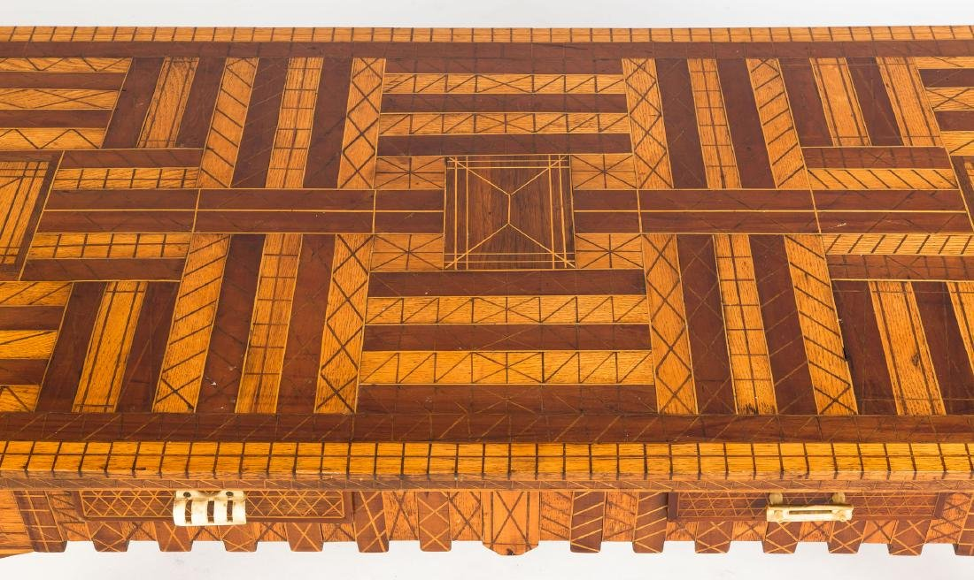 Frederick Heimmer Arts & Crafts Inlaid Coffee  Table - 2