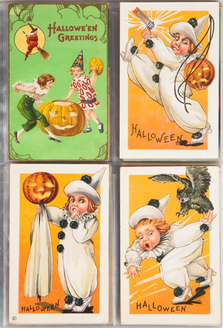 Vintage Halloween Post Cards