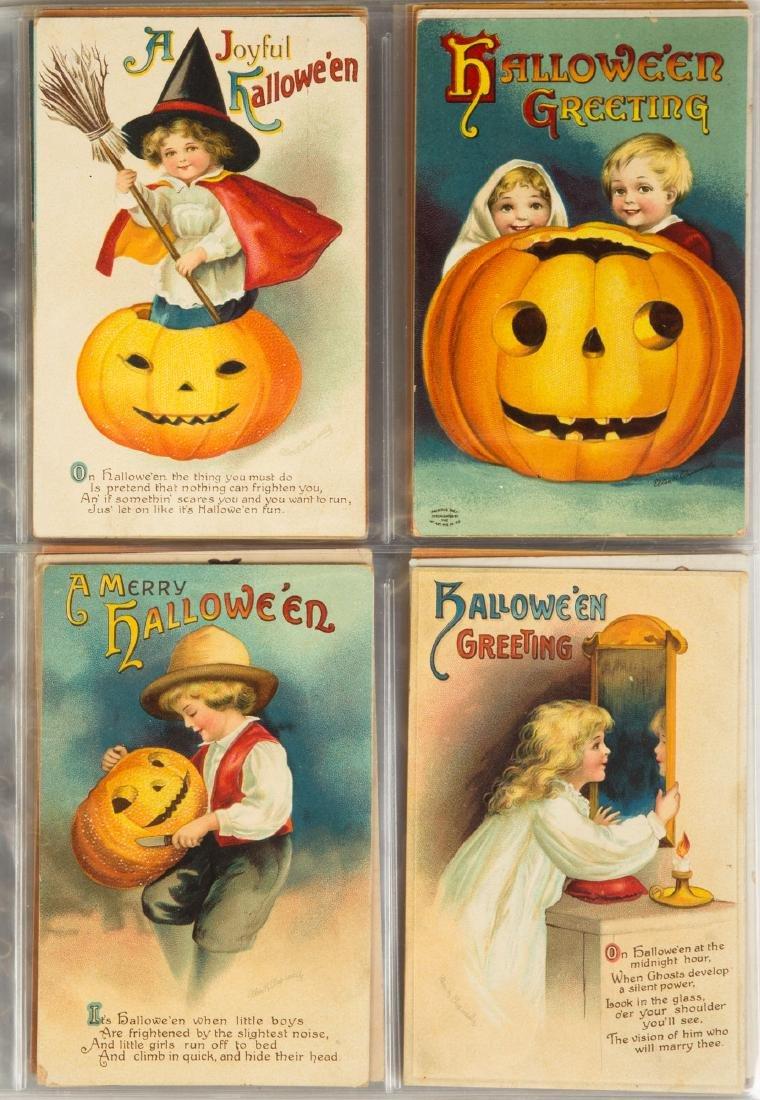 Vintage Halloween Post Cards - 2