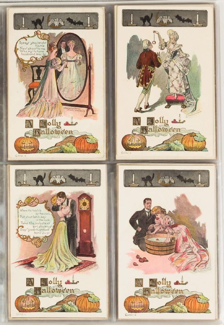 Vintage Halloween Post Cards - 4