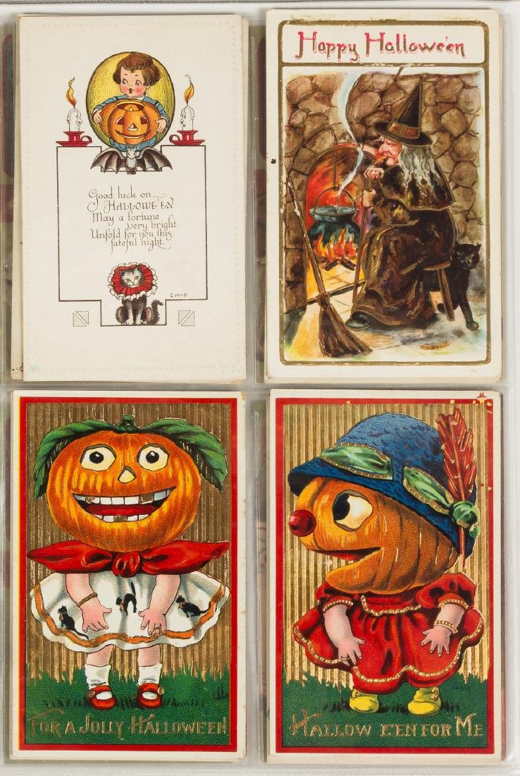 Vintage Halloween Post Cards - 5