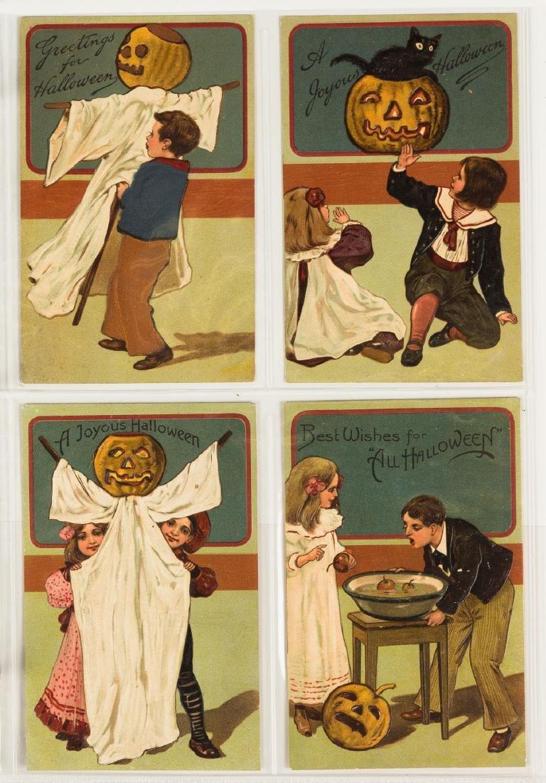 Vintage Halloween Post Cards - 6