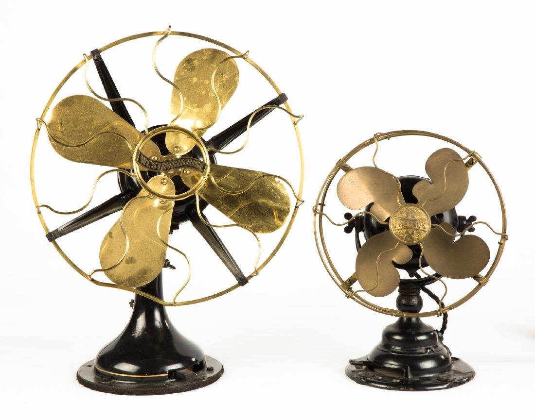 Emerson Cast Iron and Brass Fan