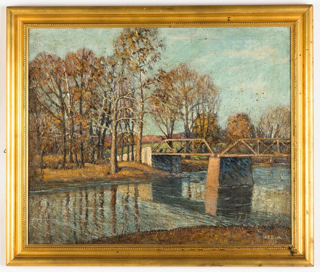 "Walter E. Baum (American, 1884-1956) ""The Bridge Creek"""