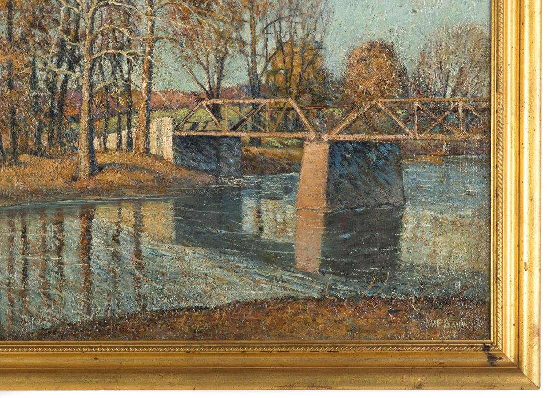"Walter E. Baum (American, 1884-1956) ""The Bridge Creek"" - 2"