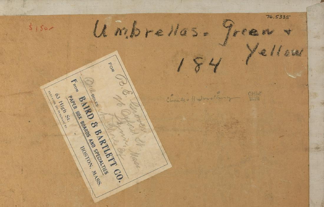 "Charles H. Woodbury (American, 1864 - 1940) ""Umbrellas, - 2"