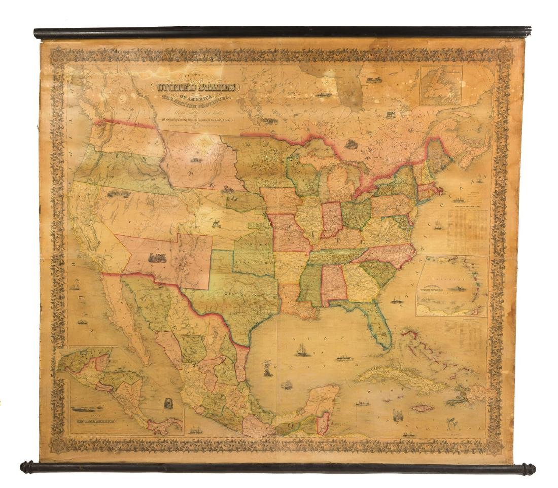J. H. Colton's Map of United States