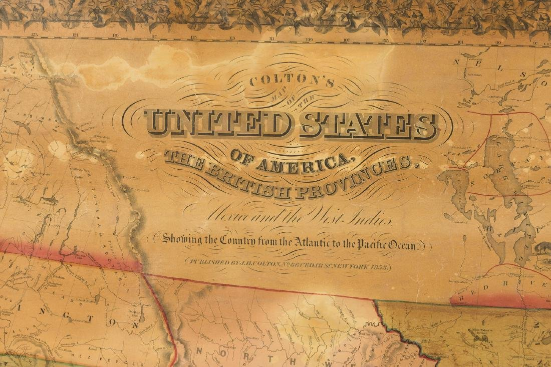 J. H. Colton's Map of United States - 2