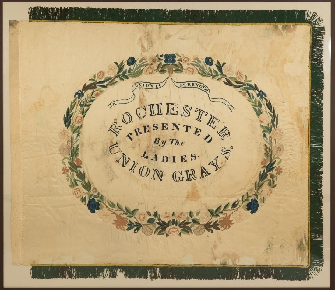 Rochester Union Grays Flag