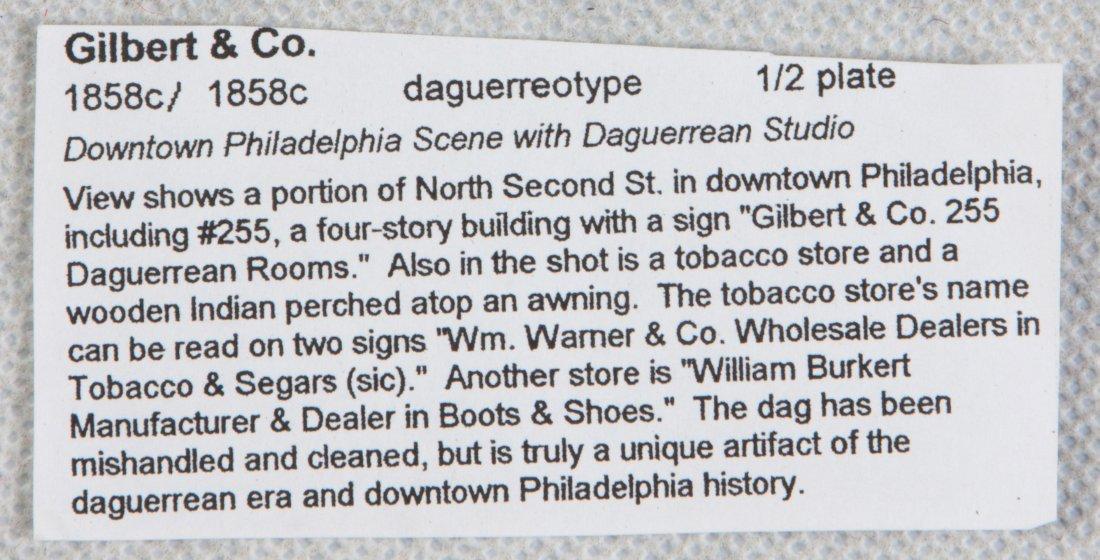 Daguerreotype of Buildings in Philadelphia with Tobacco - 2