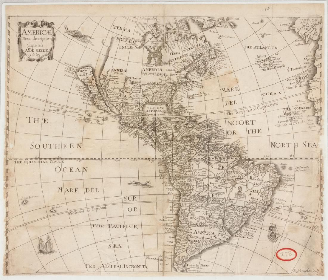 Group of Early Maps