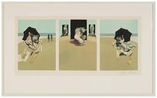 Francis Bacon (British, 1909-1992)Triptych
