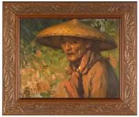 Fernando Cueto Amorsolo (Filipino, 1892-1972) Man with
