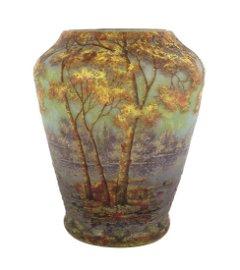Fine Daum Nancy Cameo Vase