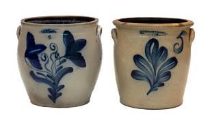 Whites Utica 6 Gallon Double Floral Ovoid Pot