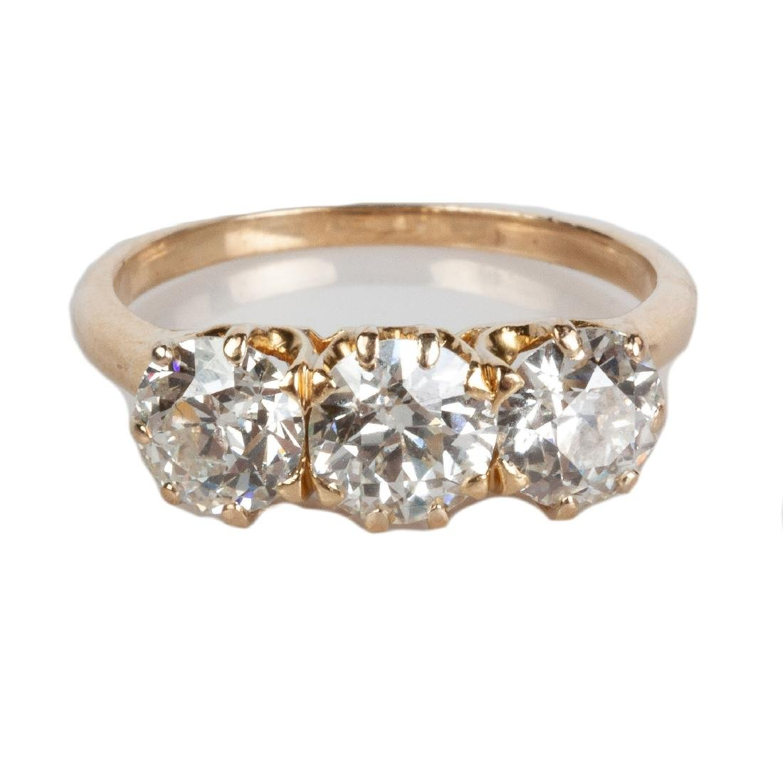 Lady's 14K Gold & Diamond Ring
