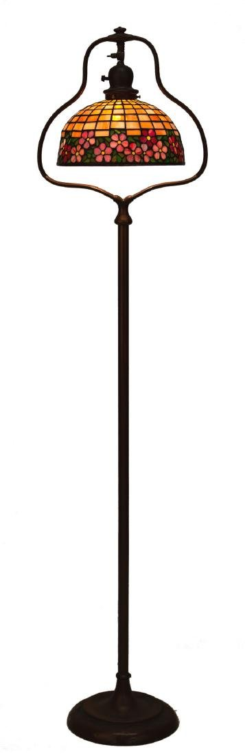 Leaded Glass Floor Lamp - 2