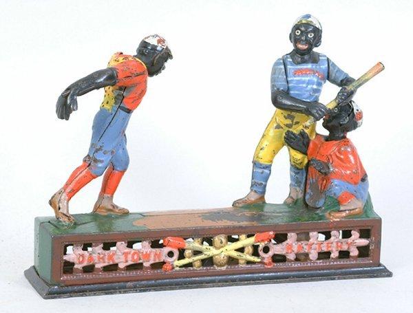 1002: Darktown Battery Mechanical Bank