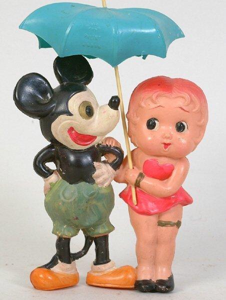 1004: Mickey & Betty Boop Celluloid