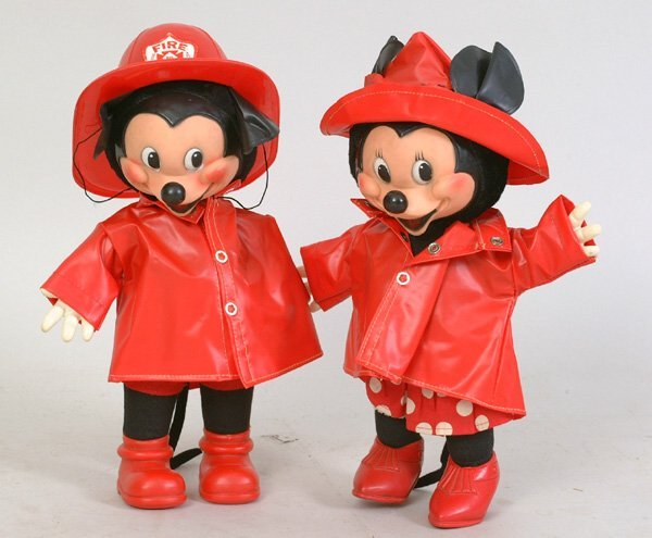 1010: Gund Walt Disney Mickey & Minnie Fireme