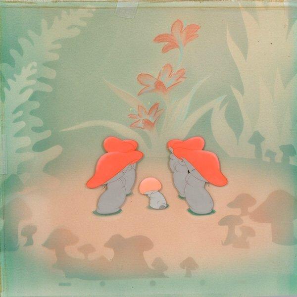 1019: Vintage Disney Animation Cell, Fantasia