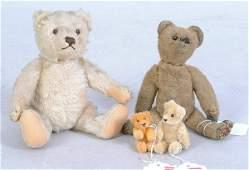 1163: Early Steiff Teddy Bear