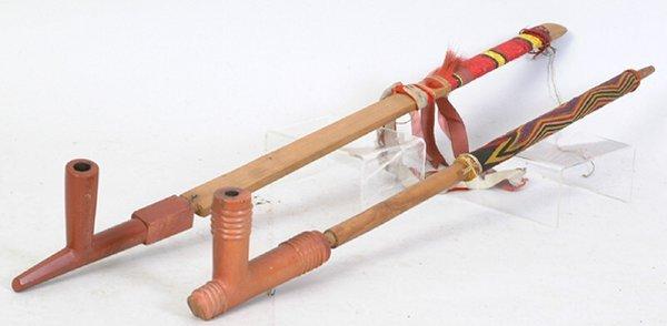2003: Catlinite Ceremonial Pipe
