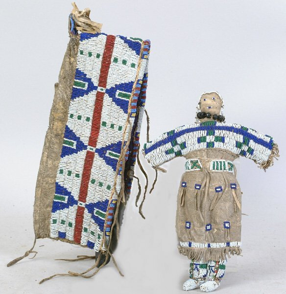 2005: Beaded Cradle Cover