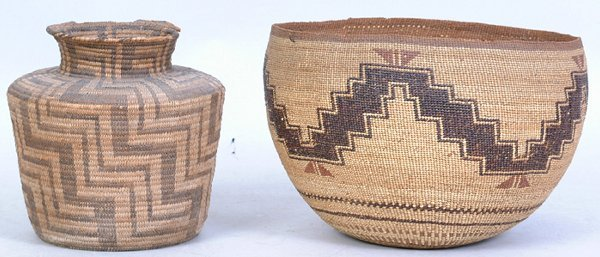 2020: Large CA Twined Indian Basket